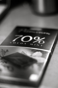 70% or more of cocoa has added benefits of improving your attention and your mood!