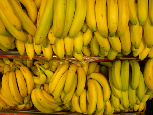 The potassium in bananas help reduce under eye puffiness when you have consumed more sodium.