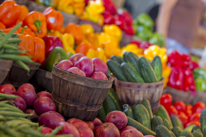 Farmer's Markets' are great places to check out for local, economical, healthy foods!