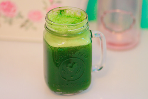 Start your day with a Green juice and incorporate greens at every meal!